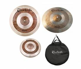 "Turkish Cymbals Sehzade Set (14""Hihat,16""Crash,20""Ride )"