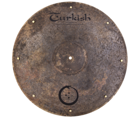 "Turkish Cymbals Snake 21"" Ride"