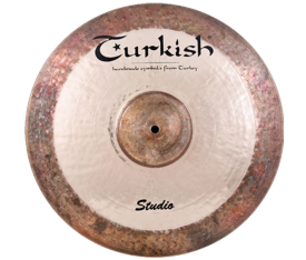 "Turkish Cymbals Studio 18"" Crash"