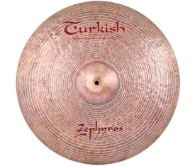 "Turkish Cymbals Zephyros 19"" Ride"