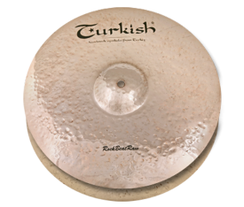 "Turkish Cymbals Rock B. Raw 14"" Hihat"