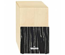 Viva Rhythm VR-TRICAJ-SO Striped Onyx Tri Tone Cajon