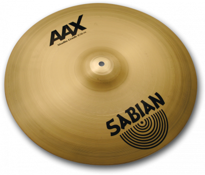 "Sabian 18"" AAX Studio Crash Brilliant"