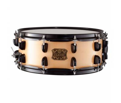 Dixon Classic 5.5x14 Maple Trampet Natural - Black Hardware