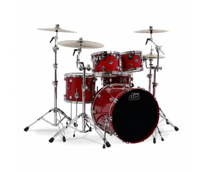 dw Drums Performance Serisi Candy Apple Red 5 Parça Davul Seti