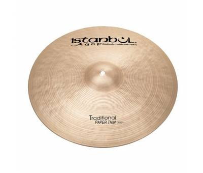 "Istanbul Agop 16"" Paper Thin Crash"