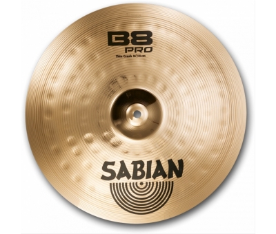 "Sabian 16"" B8 Pro Thin Crash Brilliant"